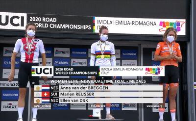 Van der Breggen na podium mistrzostw świata