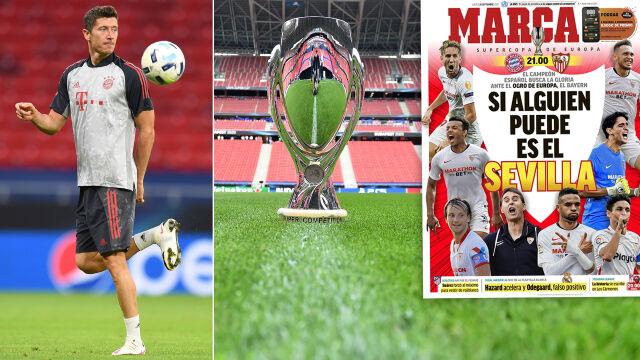 Lewandowski walczy o pierwsze trofeum w sezonie. Może dołączyć do elitarnego grona