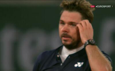 Wawrinka awansował do 2. rundy Roland Garros