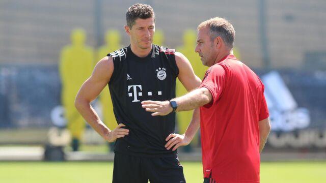 """Po urazie ani śladu. """"Lewandowski gotowy"""""""