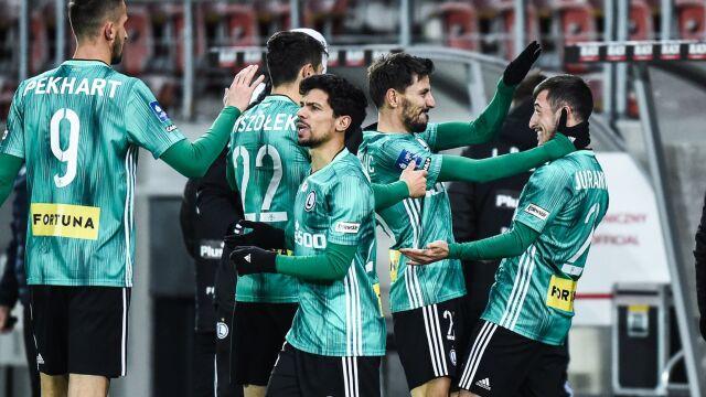 Zwycięstwo i awans na pierwsze miejsce. Legia zrobiła swoje w Krakowie