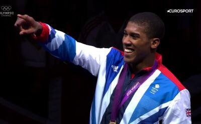 Joshua ze złotym medalem igrzysk olimpijskich