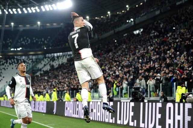 Niezastąpiony Ronaldo. Juventus ucieka Interowi