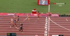 Tokio. Siedmiobój kobiet. Sułek 7. w swoim biegu na 200 m