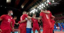Tokio. Skrót meczu Rosyjski Komitet Olimpijski – Brazylia w półfinale turnieju siatkarzy