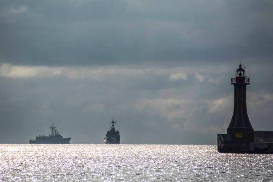 """Polskie okręty stworzą swoisty rodzaj """"parasola"""" bezpieczeństwa dla poruszającego się po morzach transportu"""