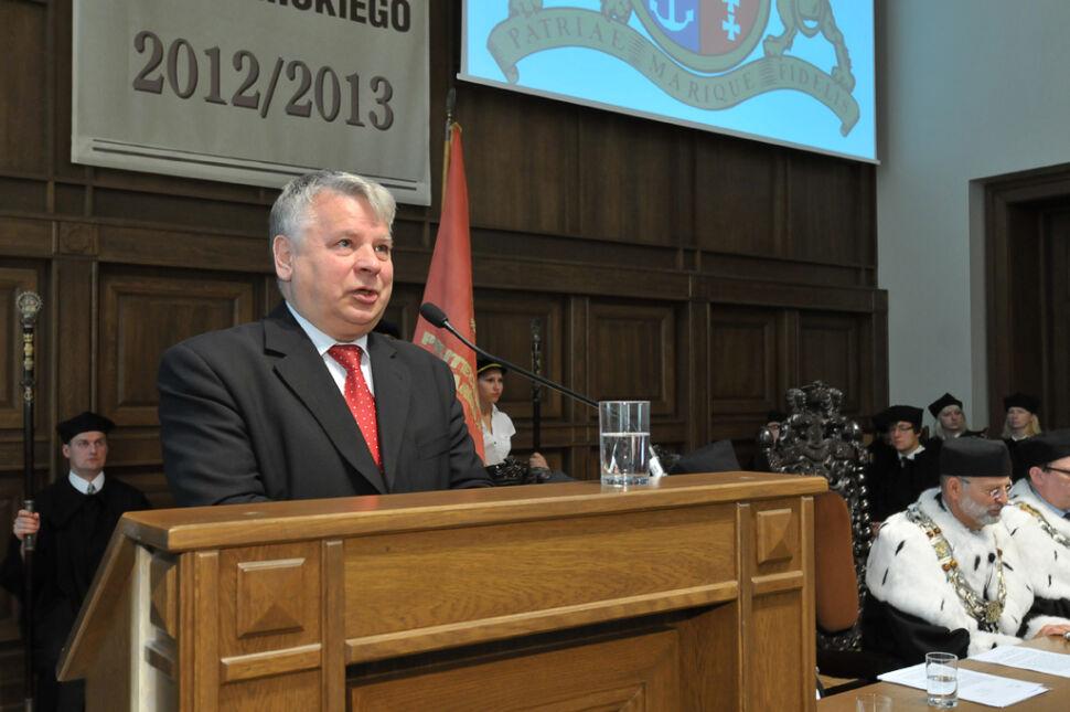 W inauguracji uczestniczył marszałek Senatu Bogdan Borusewicz