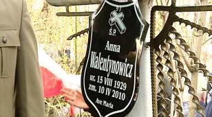 Wnuk Walentynowicz zobaczy protokół okazania jej ciała