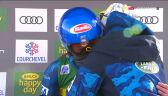 Wzruszona Shiffrin po triumfie w slalomie gigancie w Courchevel