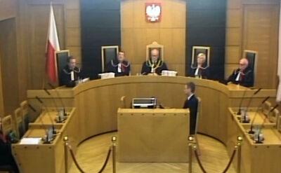 Trybunał Konstytucyjny: prezydent mógł ułaskawić Kamińskiego