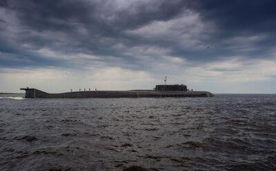 Rosyjskie okręty na Zatoce Fińskiej