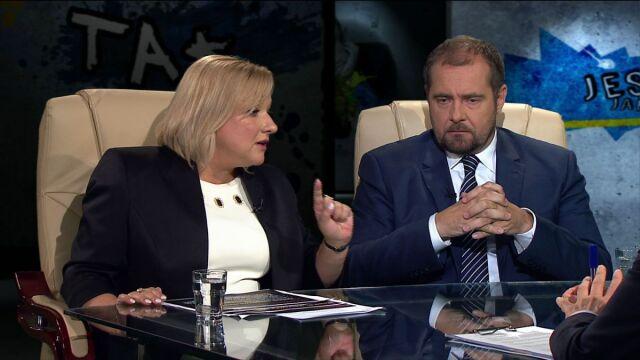 Beata Kempa i Aleksander Pociej w Tak jest