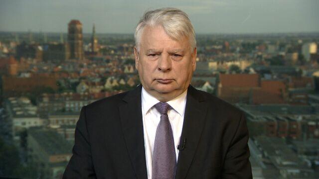 """Bogdan Borusewicz w """"Faktach po Faktach"""""""