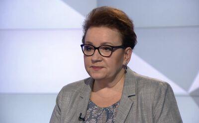Zalewska: sklejanie mnie z aferą PCK jest insynuacją