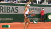 Linette wygrała 1. seta w starciu z Jabeur w 3. rundzie French Open