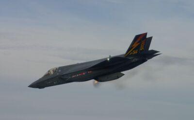 Testy podwieszanego działka F-35