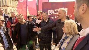Przypadkowe spotkanie liderów Lewicy i PSL.