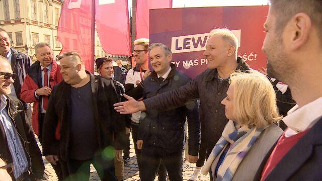 """Przypadkowe spotkanie liderów Lewicy i PSL. """"Bez siebie sobie nie poradzimy"""""""