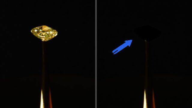 Najczarniejsza czerń na świecie.  Pochłania 99,995% światła