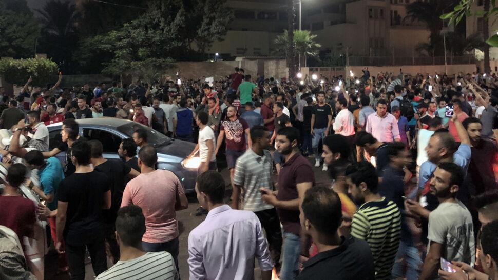 """""""Naród chce obalić reżim"""". Egipcjanie mają dość"""