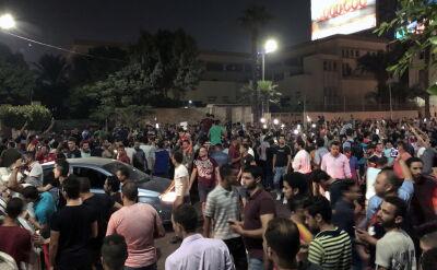 Antyprezydenckie protesty w Kairze