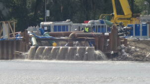 Waste from Warsaw is again flowing into the Vistula. This time due to rainfall