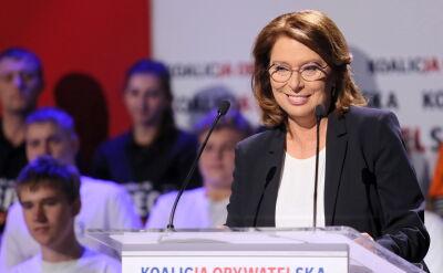 Kidawa-Błońska: wewnętrzne wojny, które szykują nam co chwile rządzący, to nie jest sen