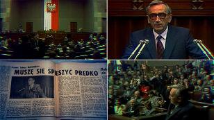 """""""Gruba linia"""". Co naprawdę znaczyły historyczne słowa Tadeusza Mazowieckiego"""