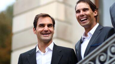Federer pod wrażeniem Nadala przed startem Pucharu Lavera
