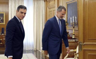 Król Hiszpanii Filip VI przeprowadził rozmowy z lideramii partii. Nie wskazał żadnego kandydata na premiera