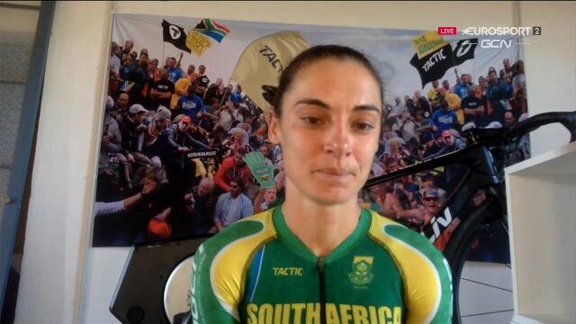 Moolman Pasio po triumfie w e-sportowych mistrzostwach świata w kolarstwie