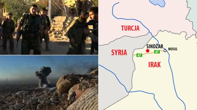 """Atak na Sindżar. Kurdowie przerwali """"kręgosłup"""" tzw. Państwa Islamskiego"""