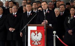 Całe przemówienie Andrzeja Dudy podczas obchodów Narodowego Święta Niepodległości