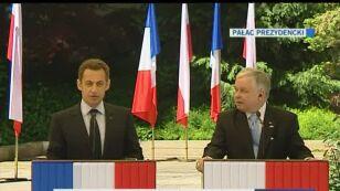 Sarkozy o roli Polski w Europie (TVN24)