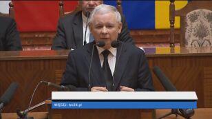 Kaczyński: Polskę trzeba integrować
