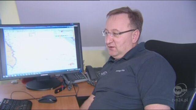 Jacek Pietraszkiewicz na temat okoliczności katastrofy (TVN24)