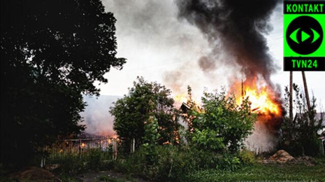 Bezdomni stracili cały dobytek w pożarze