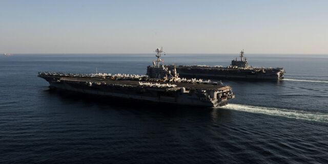 Rosyjska eskadra w Syrii? US Navy obrała kurs na Iran