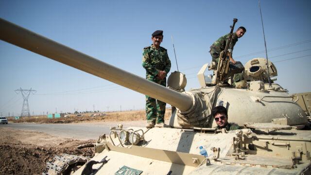 USA zaczęły dostarczać broń  bezpośrednio Kurdom. Berlin tego nie zrobi