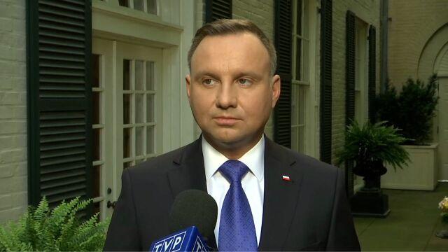 Andrzej Duda o zwiększeniu obecności sił amerykańskich na terenie Polski