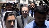 Były prezydent Pakistanu Asif Ali Zardari aresztowany