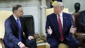 Duda na spotkaniu z Trumpem w Gabinecie Owalnym