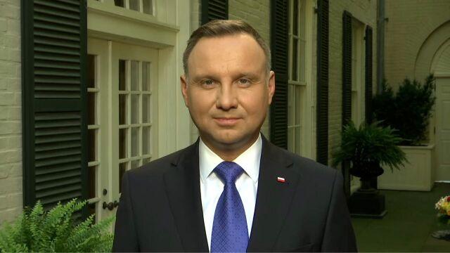 Prezydent Andrzej Duda o żołnierzach amerykańskich w Polsce