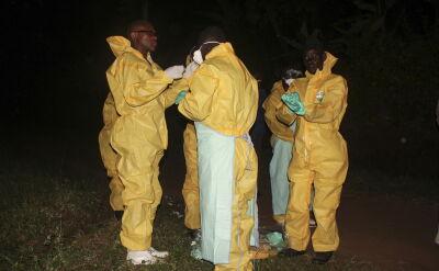 Ebola zabija w Ugandzie
