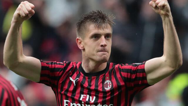 """Legendarny napastnik pod wrażeniem Piątka. """"Milan musi budować zespół wokół niego"""""""