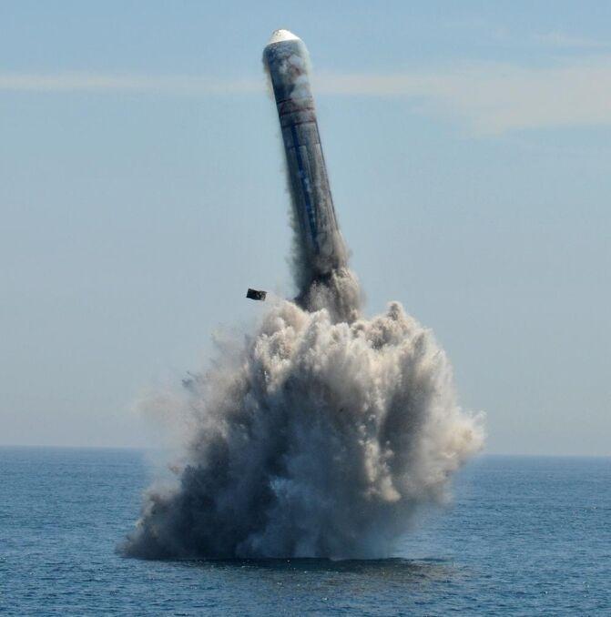 Chińska rakieta interkontynentalna z głowicą atomową JL-2