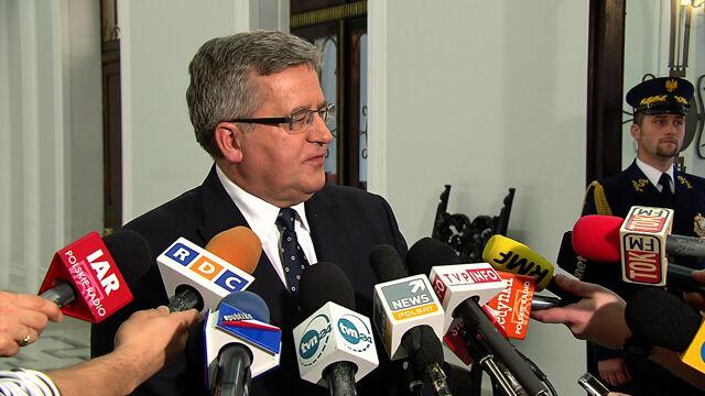 Prezydent zadowolony ze Schetyny: ważne wątki bezpieczeństwa i USA