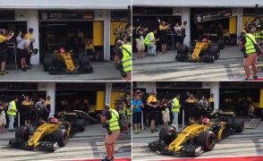 Kubica w Renault (sierpniowe testy)