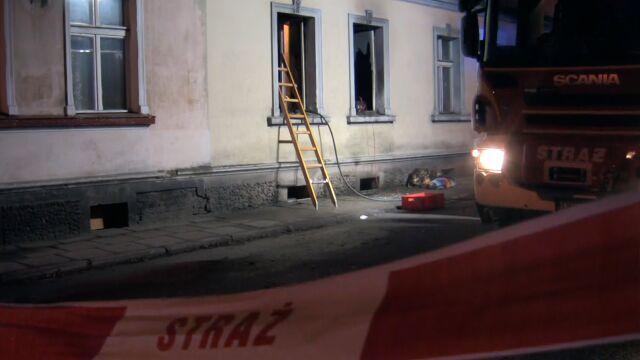 Nocny pożar. Dwie osoby zginęły, 25 ewakuowanych