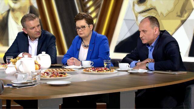 Kukiz: nie będzie okrągłego stołu z nauczycielami